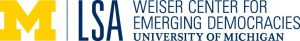 Weiser Center for Emerging Democracies (WCED)