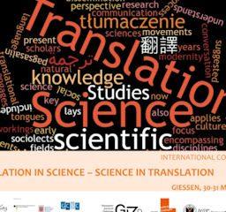 Translation in Science