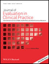 J Eval Clin Practice - cover