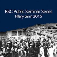RSC Public Seminar Series