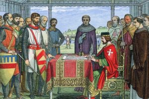 Magna Carta Illustration